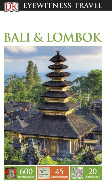 Flexibound cover of DK Eyewitness Travel Guide Bali and Lombok