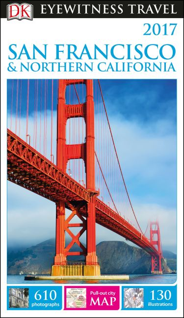 Paperback cover of DK Eyewitness Travel Guide San Francisco and Northern California