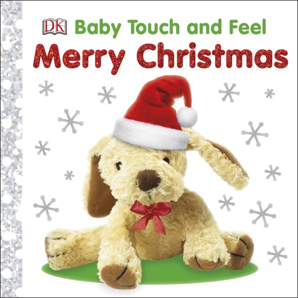 Board book cover of Baby Touch and Feel Merry Christmas