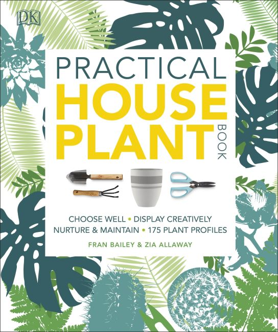 Paperback cover of Practical Houseplant Book