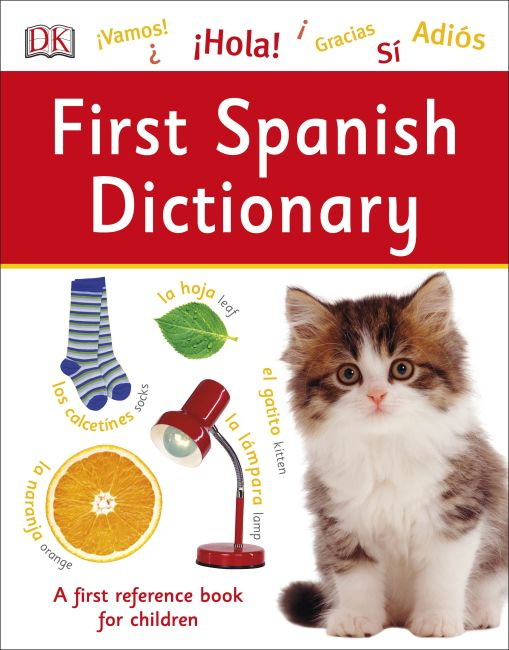 Paperback cover of First Spanish Dictionary