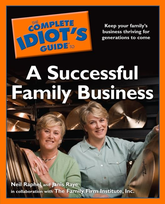 eBook cover of The Complete Idiot's Guide to a Successful Family Business