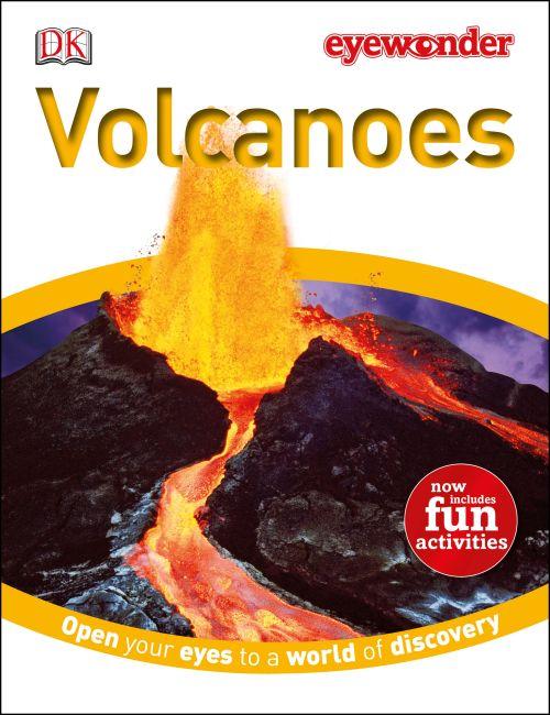 Hardback cover of Eye Wonder: Volcanoes
