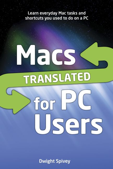 eBook cover of Macs Translated for PC Users