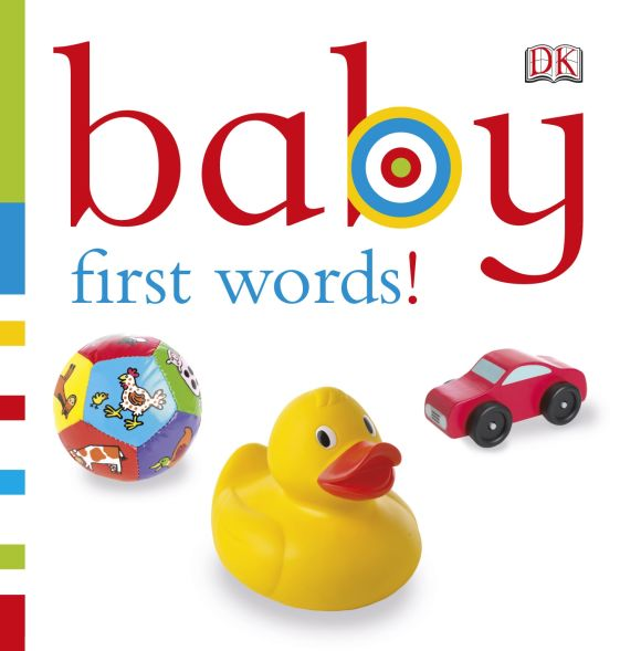 Board book cover of Baby: First Words!