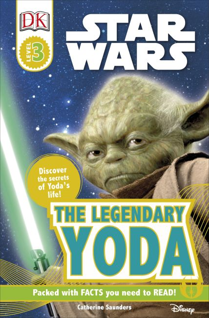 Paperback cover of DK Readers L3: Star Wars: The Legendary Yoda
