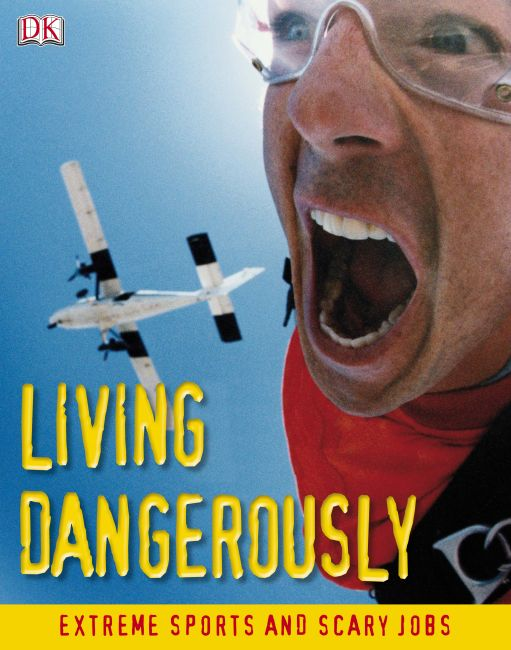 eBook cover of Living Dangerously