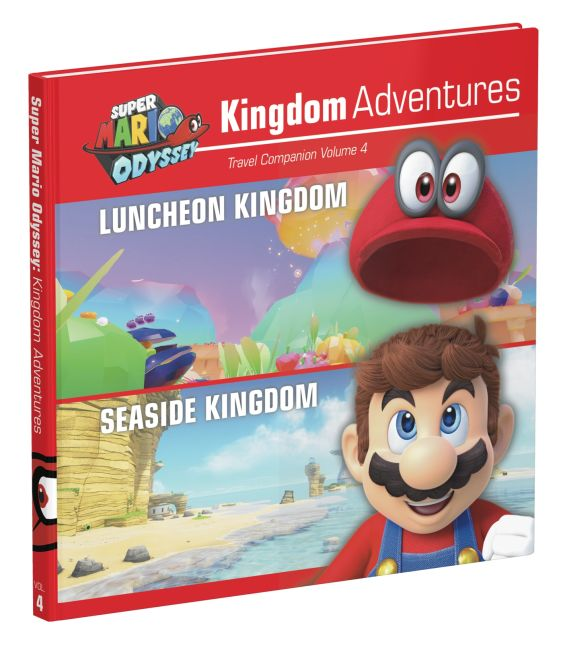 Hardback cover of Super Mario Odyssey: Kingdom Adventures Vol 4