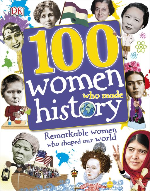 Hardback cover of 100 Women Who Made History