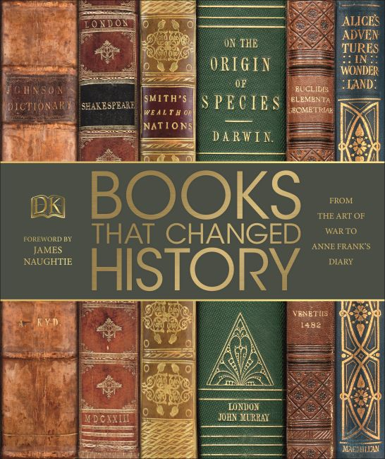 Hardback cover of Books That Changed History