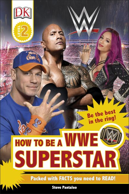 Hardback cover of How to be a WWE Superstar