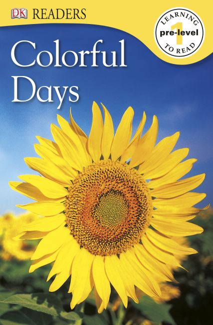 eBook cover of DK Readers: Colorful Days