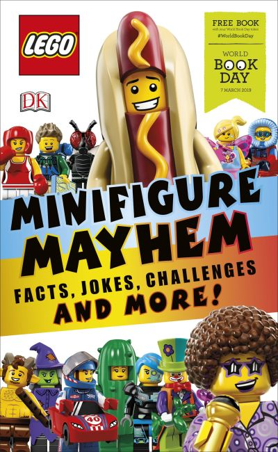 Paperback cover of LEGO Minifigure Mayhem (World Book Day 2019)