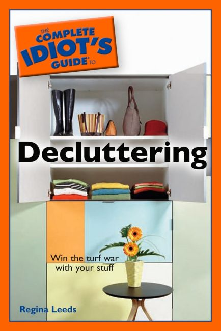 eBook cover of The Complete Idiot's Guide to Decluttering