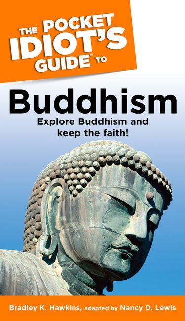 Paperback cover of The Pocket Idiot's Guide to Buddhism