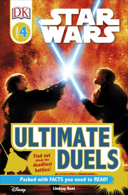 Paperback cover of DK Readers L4: Star Wars: Ultimate Duels