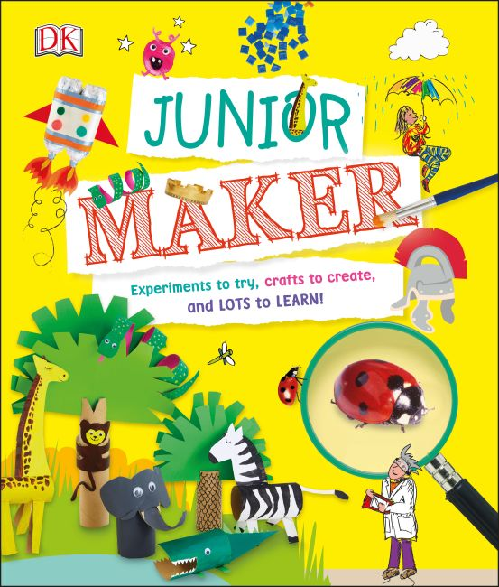 Hardback cover of Junior Maker