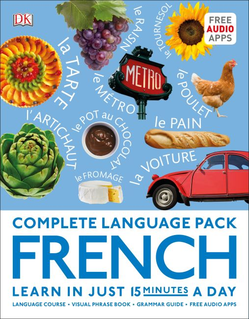Hardback cover of Complete Language Pack French