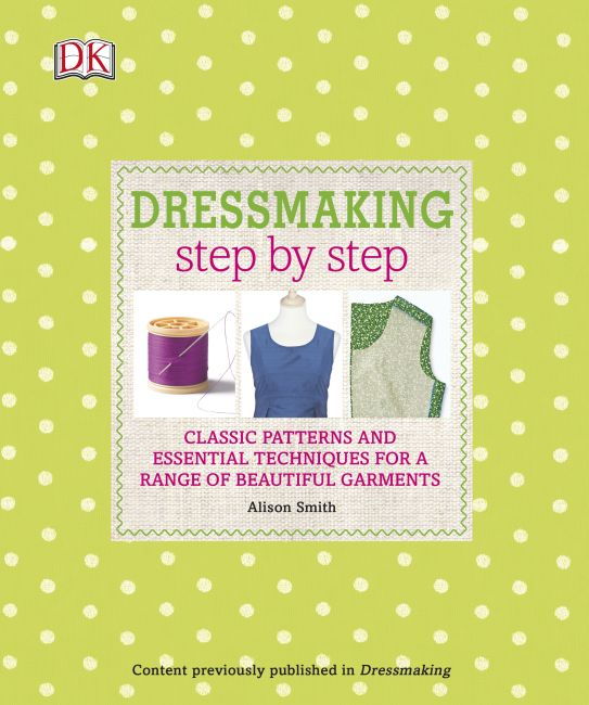 Paperback cover of Dressmaking Step by Step