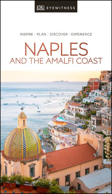 Paperback cover of DK Eyewitness Travel Guide Naples and the Amalfi Coast