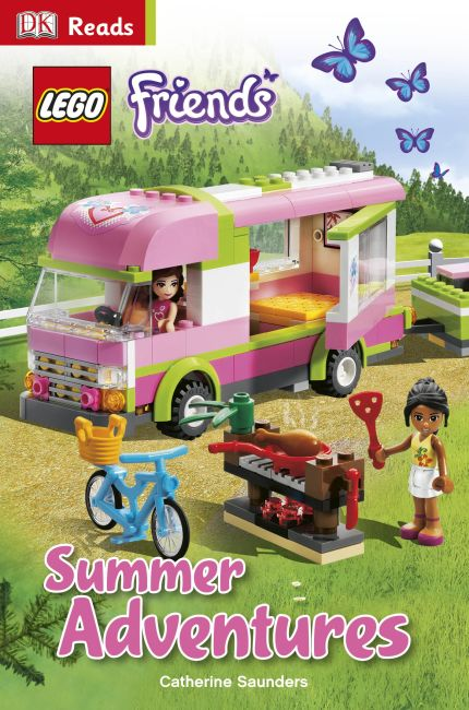 eBook cover of LEGO® Friends Summer Adventures