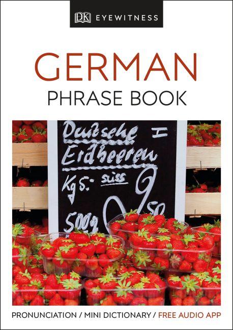 Paperback cover of Eyewitness Travel Phrase Book German