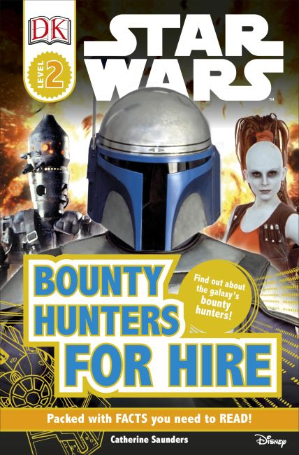 Paperback cover of DK Readers L2: Star Wars: Bounty Hunters for Hire