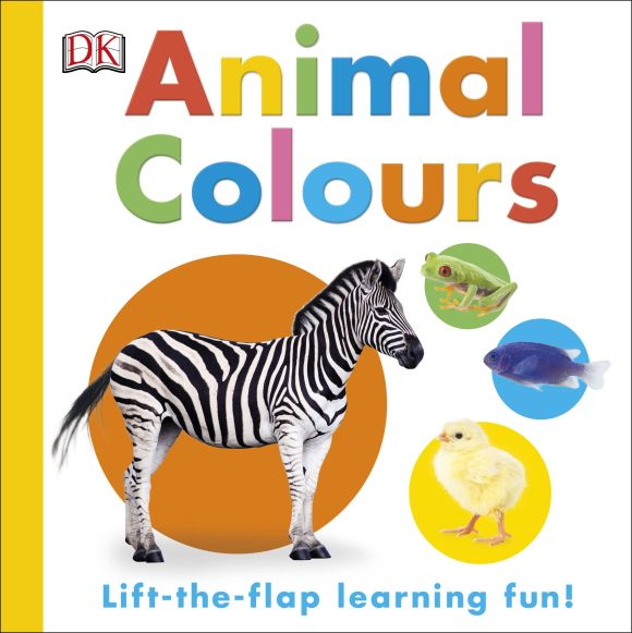 Board book cover of Animal Colours