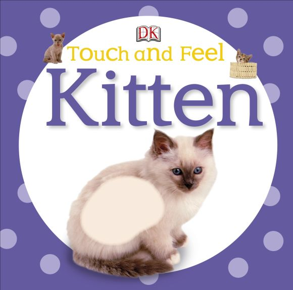 Board book cover of Touch and Feel: Kitten