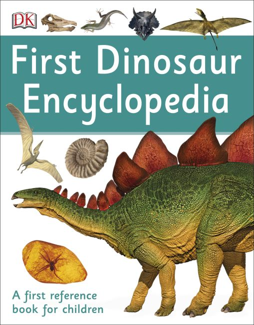 Paperback cover of First Dinosaur Encyclopedia
