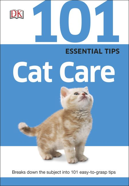 Paperback cover of 101 Essential Tips: Cat Care