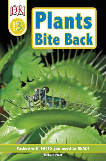 Paperback cover of DK Readers L3: Plants Bite Back!