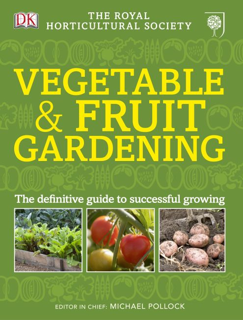 eBook cover of RHS Vegetable & Fruit Gardening