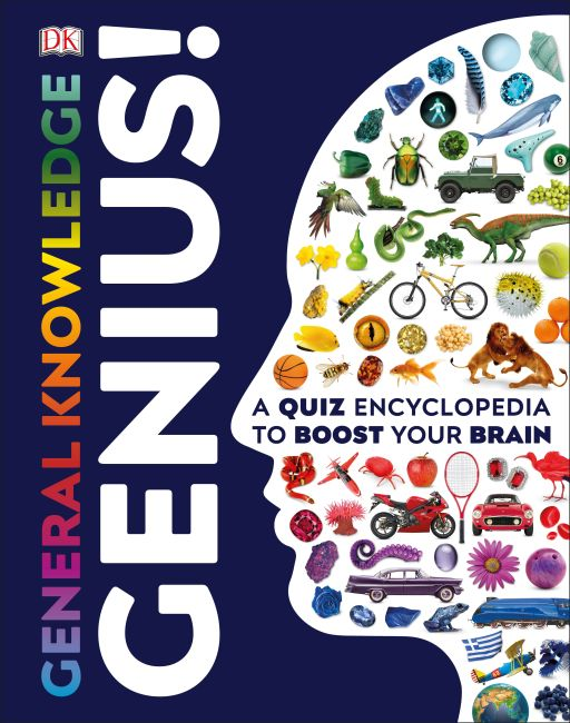 Hardback cover of General Knowledge Genius!