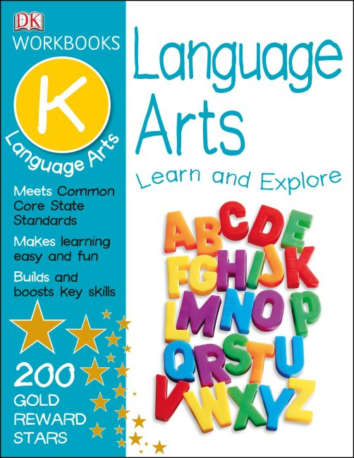 Paperback cover of DK Workbooks: Language Arts, Kindergarten