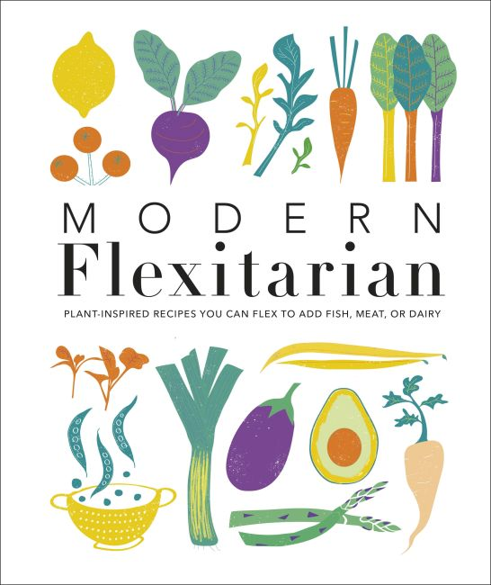 Hardback cover of Modern Flexitarian