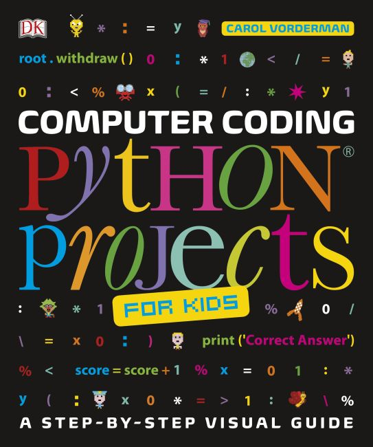 Flexibound cover of Computer Coding Python Projects for Kids