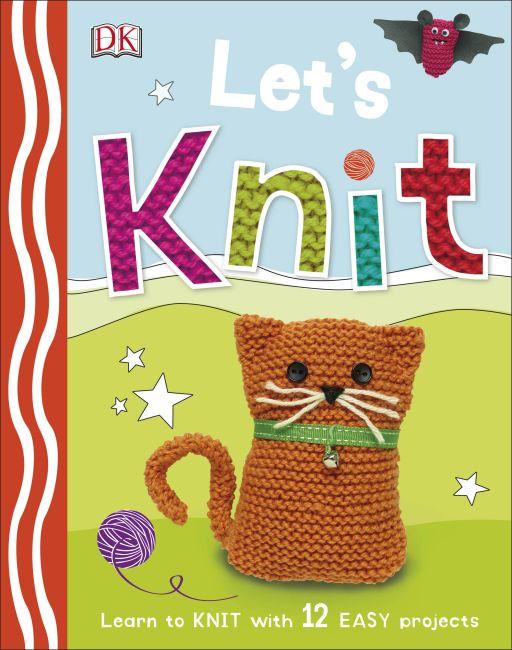 Hardback cover of Let's Knit