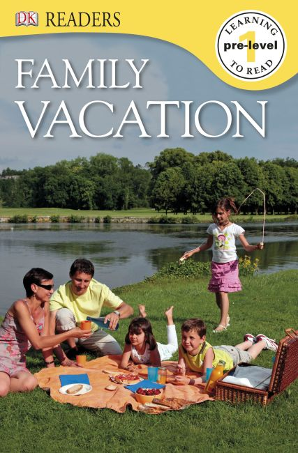 eBook cover of DK Readers: Family Vacation