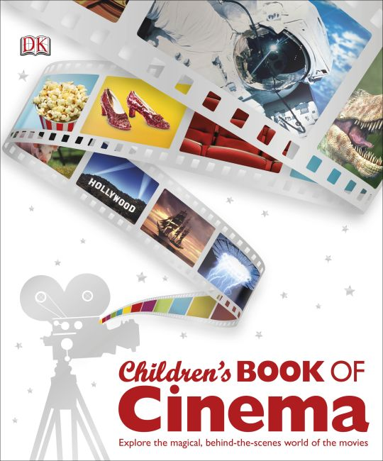 Hardback cover of Children's Book of Cinema
