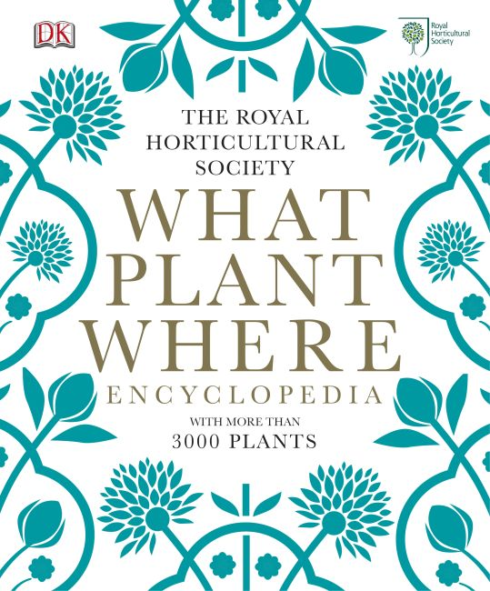Hardback cover of RHS What Plant Where Encyclopedia