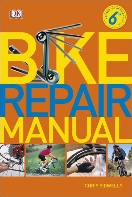 Paperback cover of Bike Repair Manual