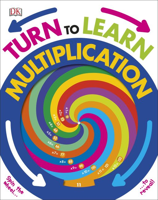 Hardback cover of Turn to Learn Multiplication
