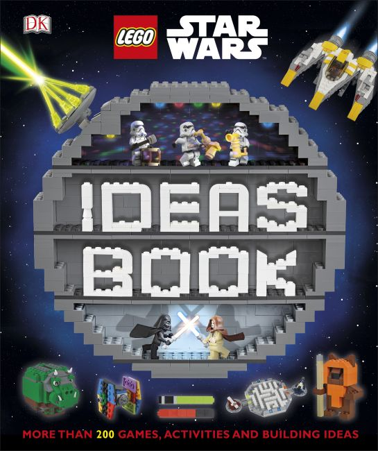 Hardback cover of LEGO Star Wars Ideas Book