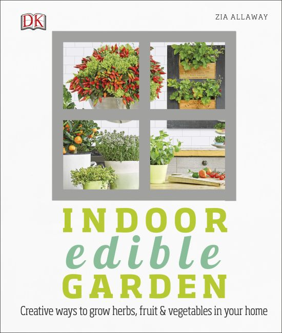 Hardback cover of Indoor Edible Garden