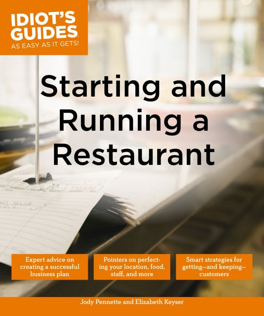 Paperback cover of Starting and Running a Restaurant