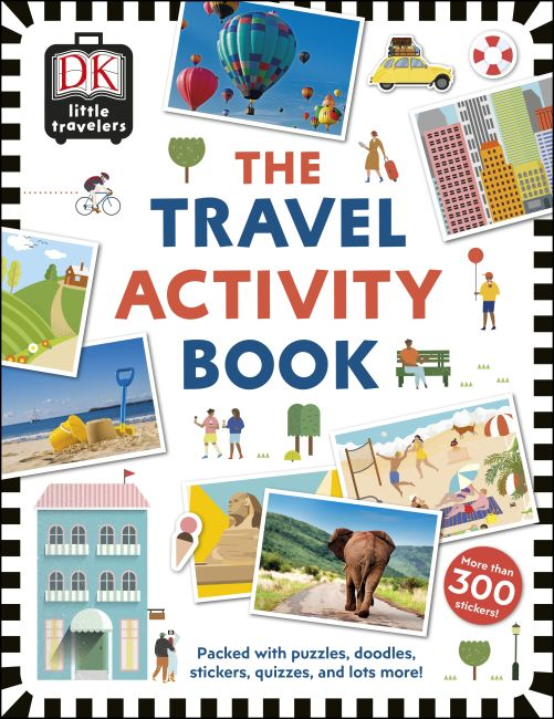 Paperback cover of The Travel Activity Book