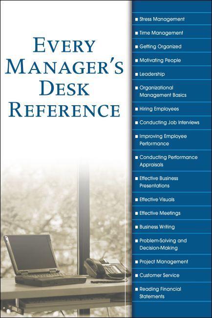 eBook cover of Every Manager's Desk Reference