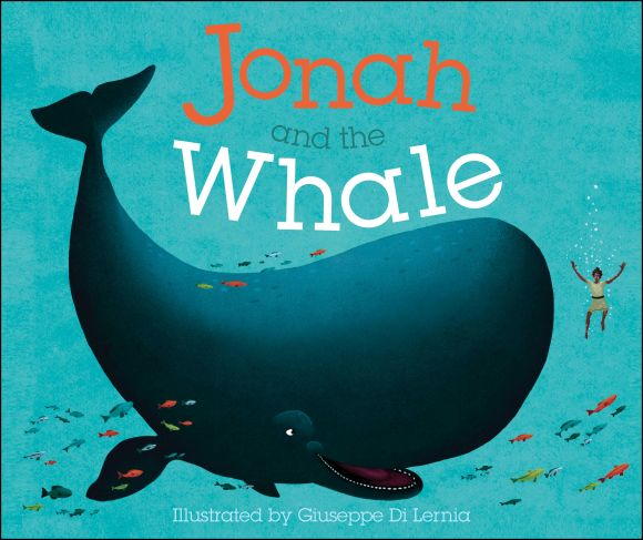 Board book cover of Jonah and the Whale