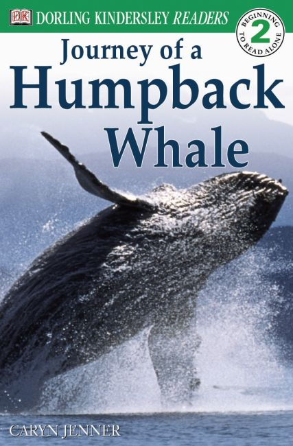 Paperback cover of DK Readers L2: Journey of a Humpback Whale